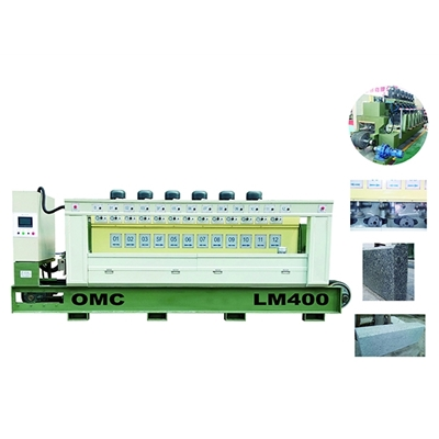 OMC-LM400 Kerbstone Grinding and Chamfering Machine