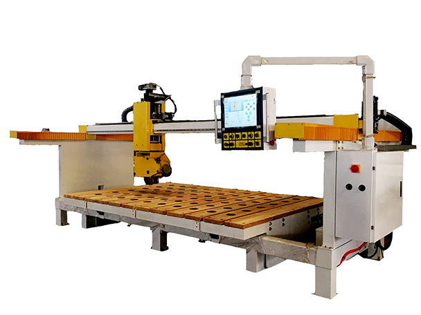 OSC-Titan3500 CNC 5-Axis Stone Cutting Machine