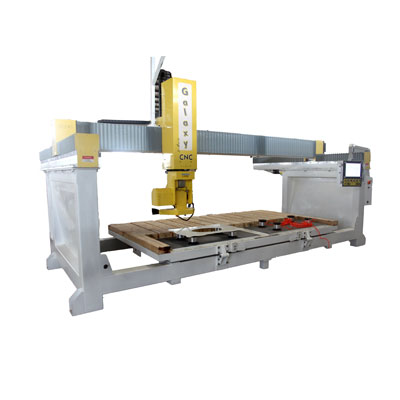 5 Axis bridge saw